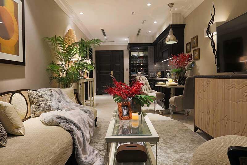 Phòng khách Vinhomes Ba Son
