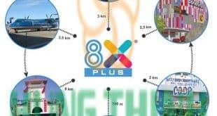 Tiện ích nogại khu liền kề dự án 8X Plus