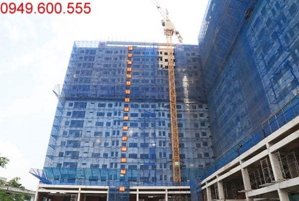 Tiến độ xây dựng 9 View Apartment