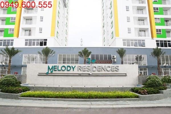 Tiến độ xây dựng Melody Residences Âu Cơ