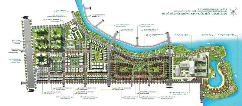 Chi tiết quy hoạch dự án Phố Đông Village