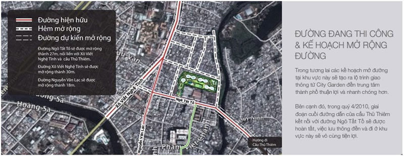 Vị trí căn hộ City Garden