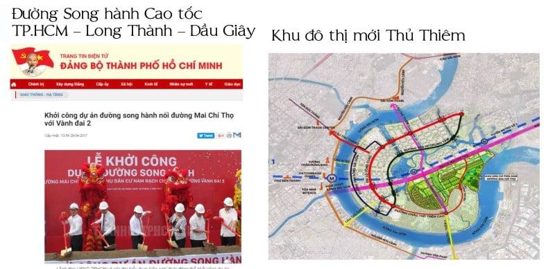 Saigon Mystery nằm trong khu đô thị mới Thủ Thiêm