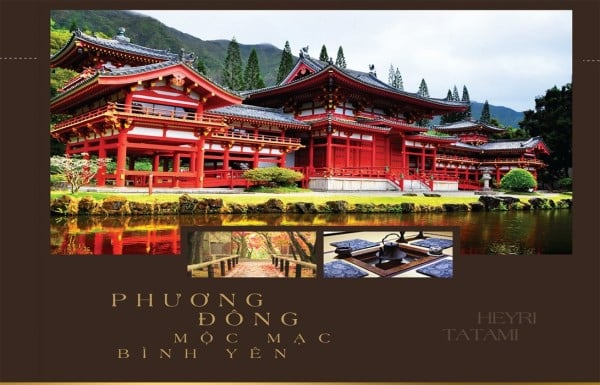 Kiến trúc Phương Đông tại Golden Bay