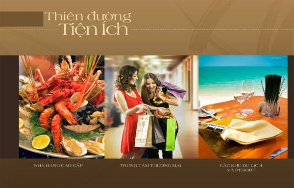 Tiện ích golden Bay Cam Ranh