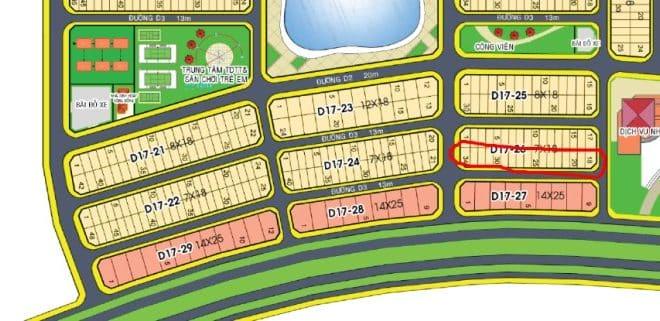 Golden Bay D17 26 dong nam