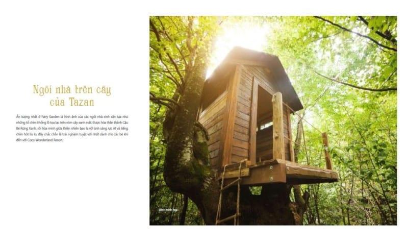 Ngôi nhà trên cây của Tazan tại Coco Wonderland Resort