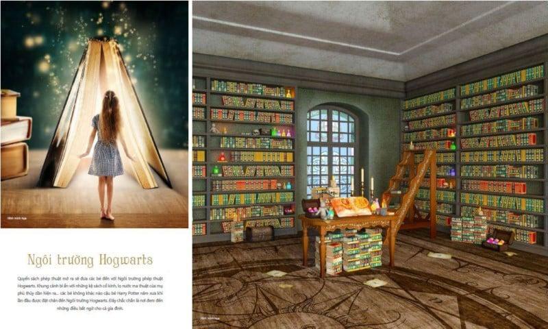 Ngôi Trường Hogwarts tại Coco Wonderland Resort