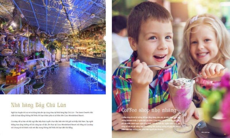 Nhà hàng Bảy Chú Lùn tại Coco Wonderland Resort