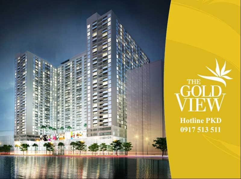 Tổng quan căn hộ The Gold View
