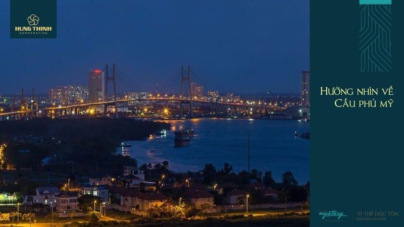 Góc nhìn từSaigon Mystery Villas sang cầu Phú Mỹ