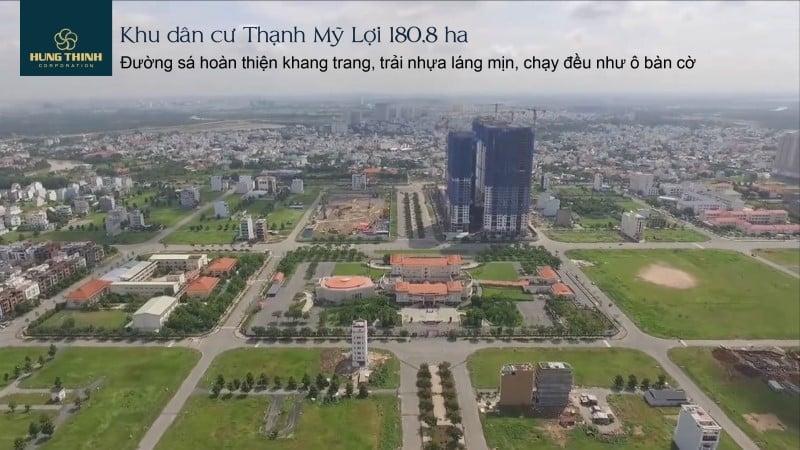 Từ Saigon Mystery nhìn về khu dân cư Thạnh Mỹ Lợi