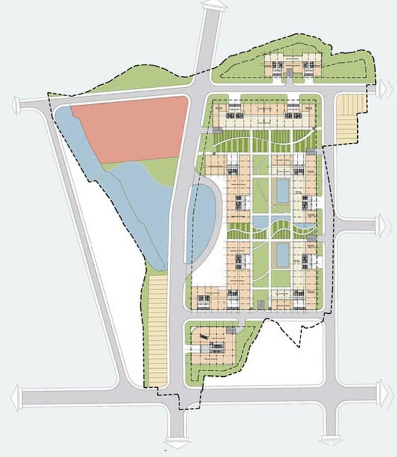 Mặt bằng căn hộ Nbb Garden