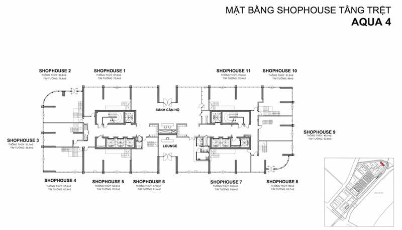 mat bang shophouse vinhomes golden river