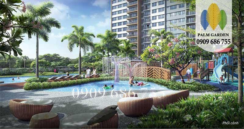 Căn hộ chung cư Palm Garden