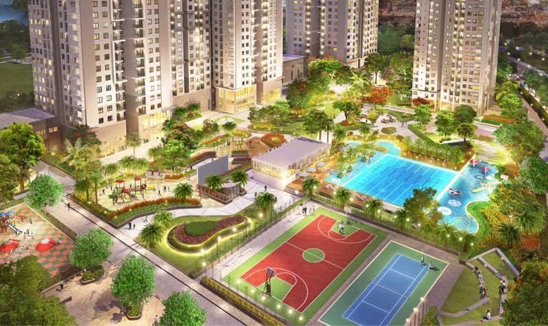 Tổng quan căn hộ Saigon South Residence