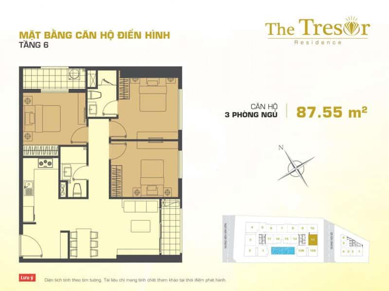 cho thuê căn hộ the tresor