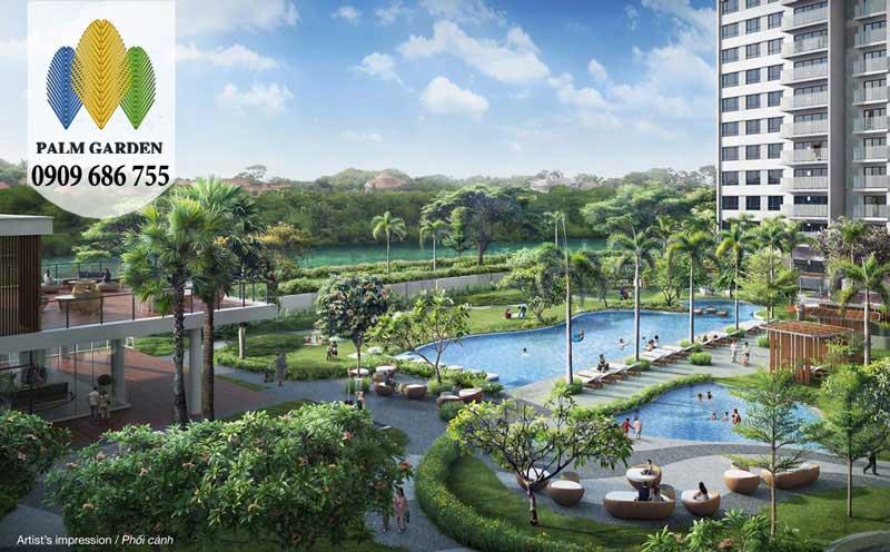 Tiến độ thanh toán căn hộ chung cư Palm Garden