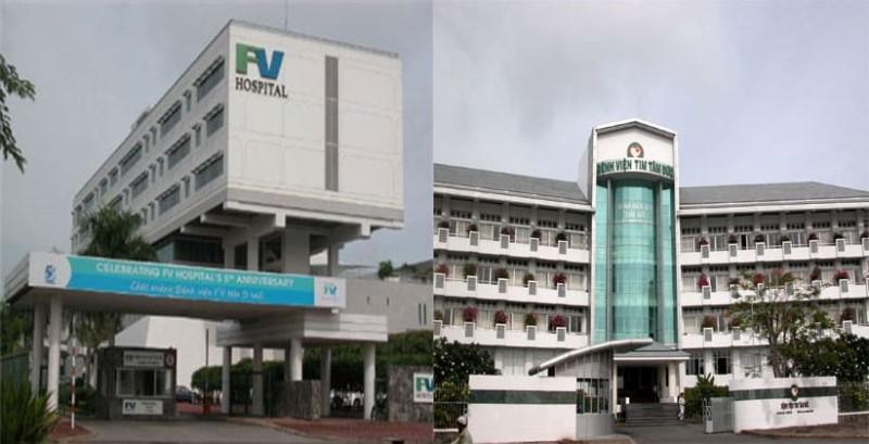 Bệnh viện Việt Pháp FV và viện Tim Tâm Đức liền kề dự án căn hộ Sunriver