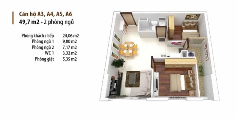 Thiết kế căn hộ Sunriver