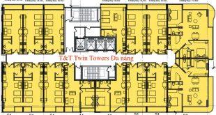 Mặt bằng Condotel Twin Tower