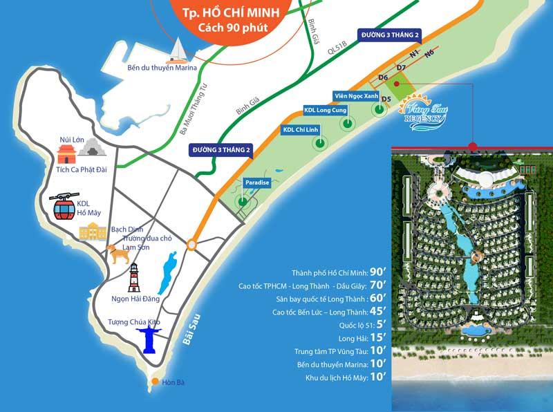 Vị trí Regency Vũng Tàu