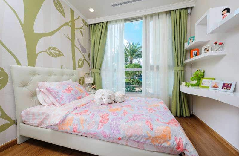 Phòng ngủ căn hộ Landmark 5