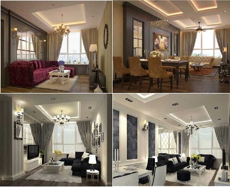 Căn hộ mẫu Leman Luxury