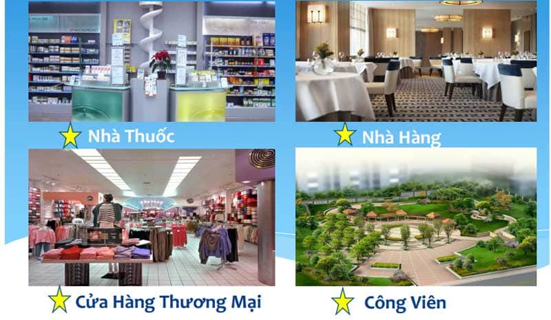 Tiện ích Căn hộ Hoàng Anh Thanh Bình