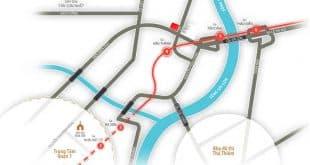 Vị trí dự án căn hộ 152 Điện Biên Phủ