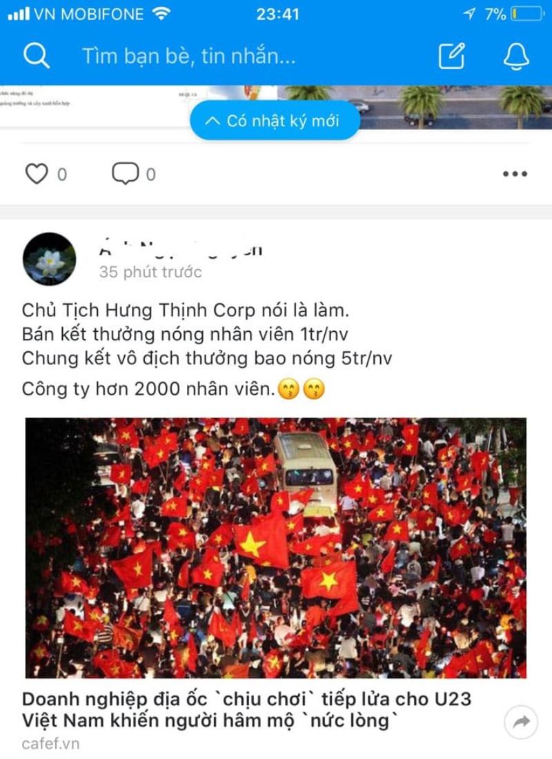 Hung Thinh Thuong Nong mung U Viet Nam