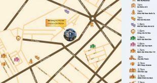 Vị trí căn họ Hà Đô Centrosa