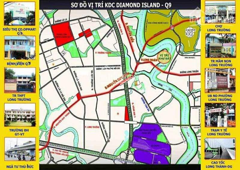 Đất nền Diamond Island