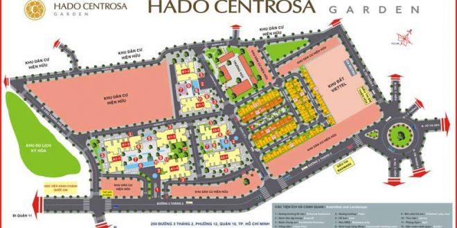 Mặt bằng Hà Đô Centrosa