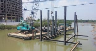 Tiến độ thi công dự án Saigon Peninsula