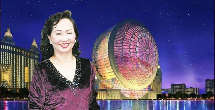 Doanh nhân Trương Mỹ Lan là người đầu tư vào dự án Saigon Peninsula
