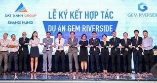 Lễ kí kết hợp tác dự án Gem Riverside