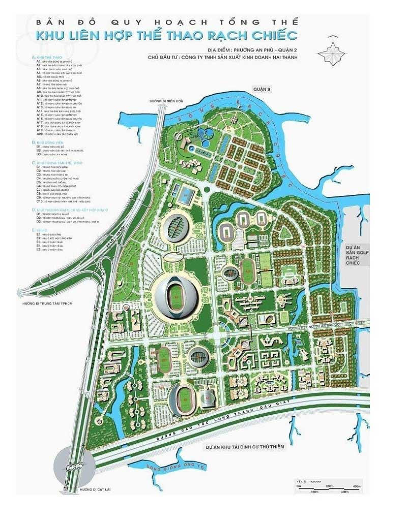 Vị trí Saigon Sport City