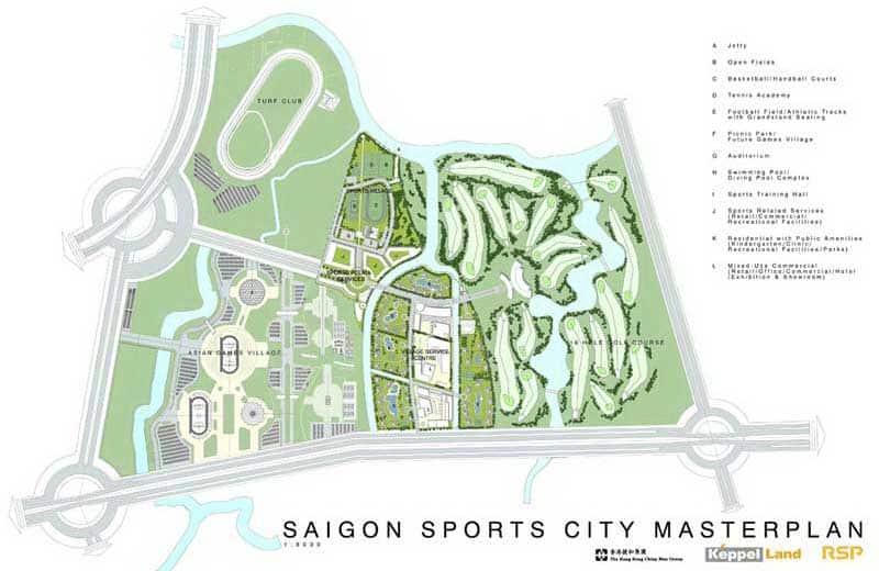 Mặt bằng căn hộ Saigon Sport City