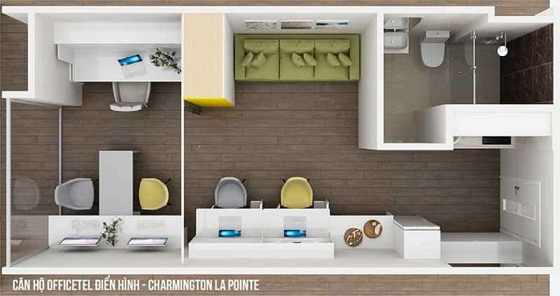 Officetel Charmington La Pointe