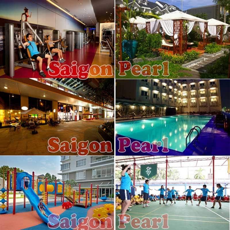 Tiện ích tại Saigon Pearl