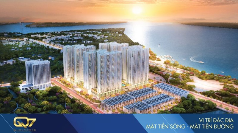Phối cảnh Saigon Riverside Complex