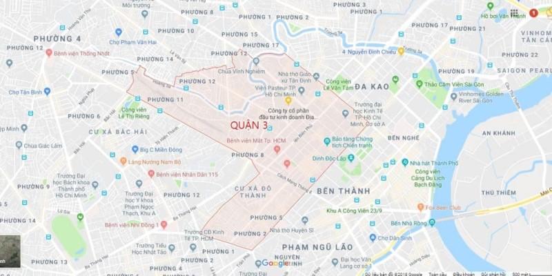 Bản đồ quận 3