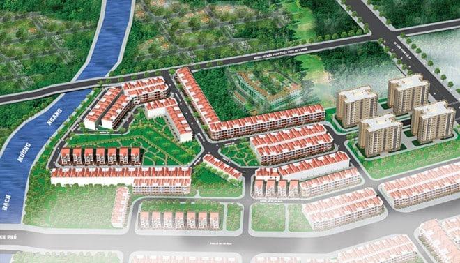 Khu dân cư Thiên Phú Gia