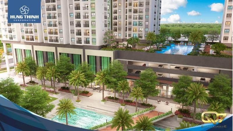 Tien ich noi khu Q Saigon Riverside Complex