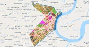 Bản đồ quận 1 TP Hồ Chí Minh