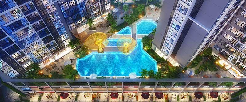 Hồ bơi Eco Green Saigon