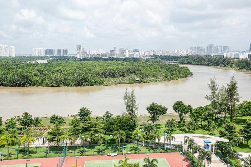 View từ Căn hộ Riverside Residence