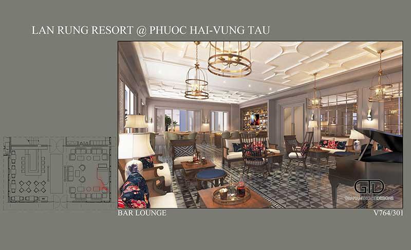 Mặt bằng Condotel Lan Rừng Resort Phước Hải