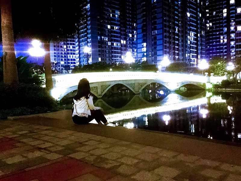 View Vinhomes ban đêm